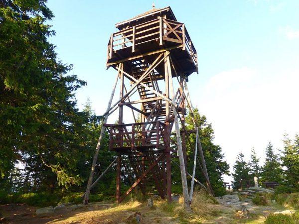 Czarna Góra wieża widokowa