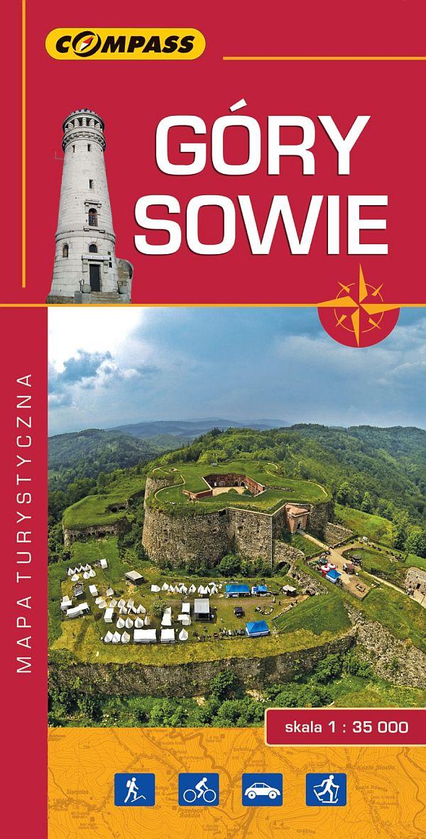 mapa Góry Sowie