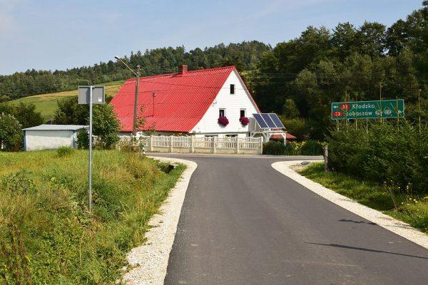 Kamieńczyk - nowa droga do granicy