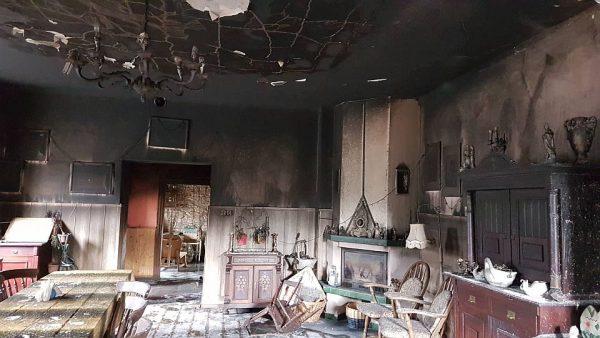 Niemojów: pożar w zajeździe Gościniec