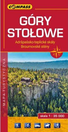 mapa Góry Stołowe